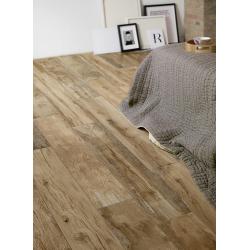 Dalle imitation bois antidérapante 40x120 cm WOODMANIA Caramel ep.2 cm - R11 - 0.48 m² Ragno