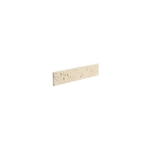 Plinthe TRAVERTIN vieilli beige LIGHT MIX 8x40,6x1.2 cm - Vendu par 10 unités