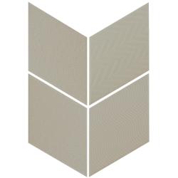 Carrelage losange diamant 14x24cm vert relief ref. 21311 RHOMBUS MAT -   - Echantillon Equipe