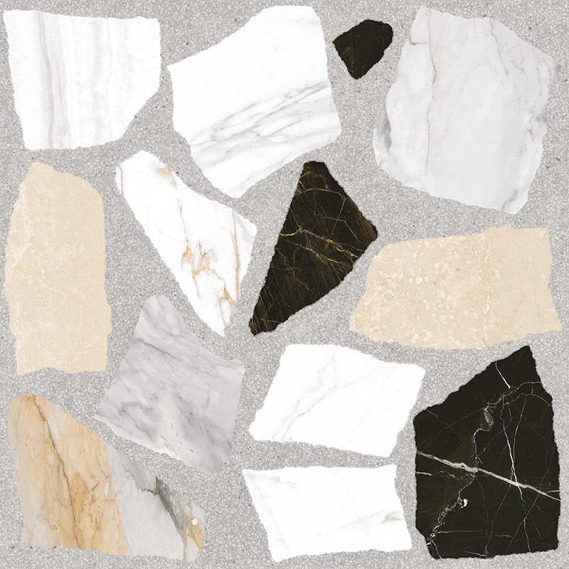 Carreau style granito coloré 120x120 cm NIKOI-R R10 - 1.44m² - zoom