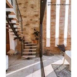 Carrelage imitation pierre DOVER FLINT 80x80 cm - R10 - Rectifié - 1.28m²