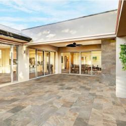 Carrelage pour terrasse effet pierre naturelle CLEVELAND mix 30x60 cm antidérapant R11 - 1.08 m²