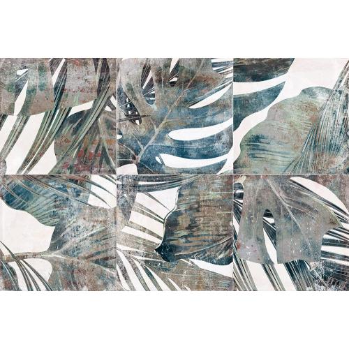 Carrelage effet botanique 20x20 cm AMAZONE - 0.52 m² Nanda Tiles