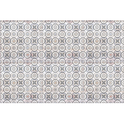 Carrelage aspect ciment décoré 20x20 cm MARONI - 0.52 m² Nanda Tiles