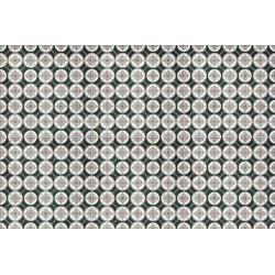 Carrelage aspect ciment décoré 20x20 cm IRMINIO - 0.52 m² Nanda Tiles