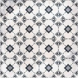 Carrelage aspect ciment décoré 20x20 cm BONTEMPS - 0.52 m²