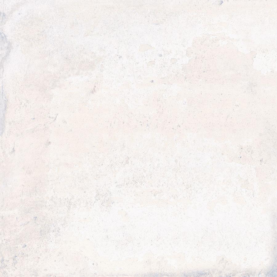 Carrelage aspect ciment uni 20x20 cm ADIGE WHITE - 0.52 m² - zoom
