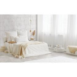 Carrelage aspect ciment uni 20x20 cm ADIGE WHITE - 0.52 m² Nanda Tiles