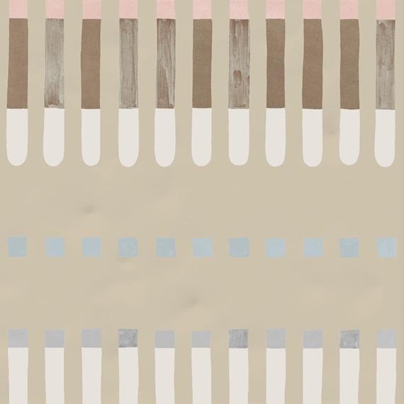 Carrelage décoré 20x20 cm JULES - 1 m² - zoom