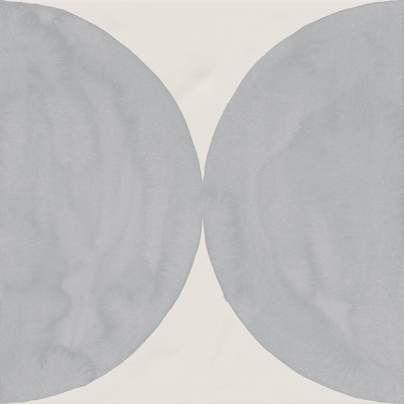 Carrelage décoré 20x20 cm MOLLETON - 1 m² - zoom