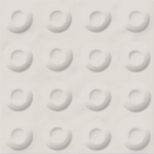 Carrelage décoré 20x20 cm POSSOZ BLANC - 0.80 m² Vives Azulejos y Gres
