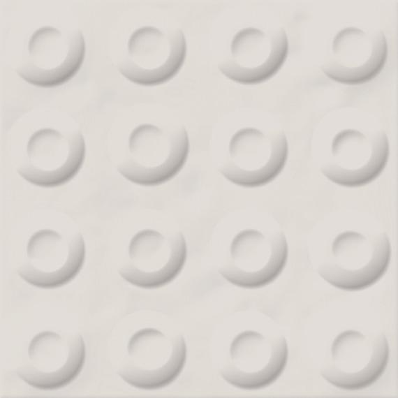 Carrelage décoré 20x20 cm POSSOZ BLANC - 0.80 m² - zoom