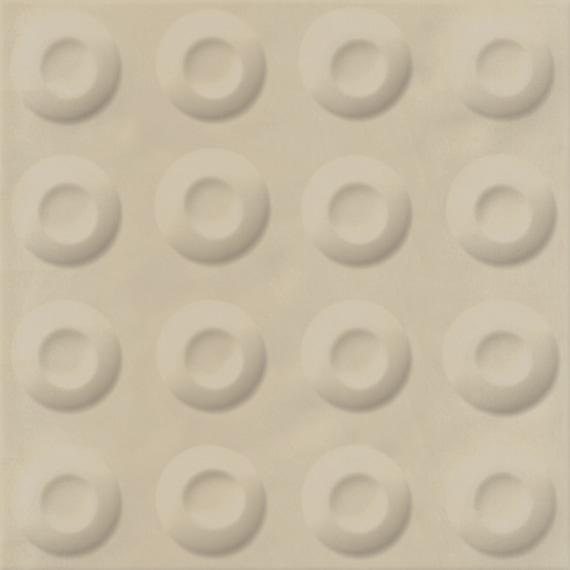 Carrelage décoré 20x20 cm POSSOZ BEIGE - 0.80 m² - zoom
