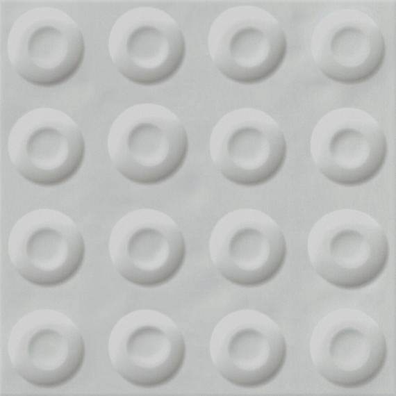 Carrelage décoré 20x20 cm POSSOZ GRIS - 0.80 m² - zoom