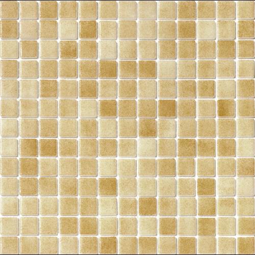 Mosaique piscine antidérapante - Nieve beige ocre orangé 3108 31.6x31.6 cm - 1 m² - zoom