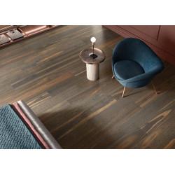 Plinthe aspect bois moderne ANDRIA BRUN grand format - 6,5X120- 8 Unités ItalGraniti