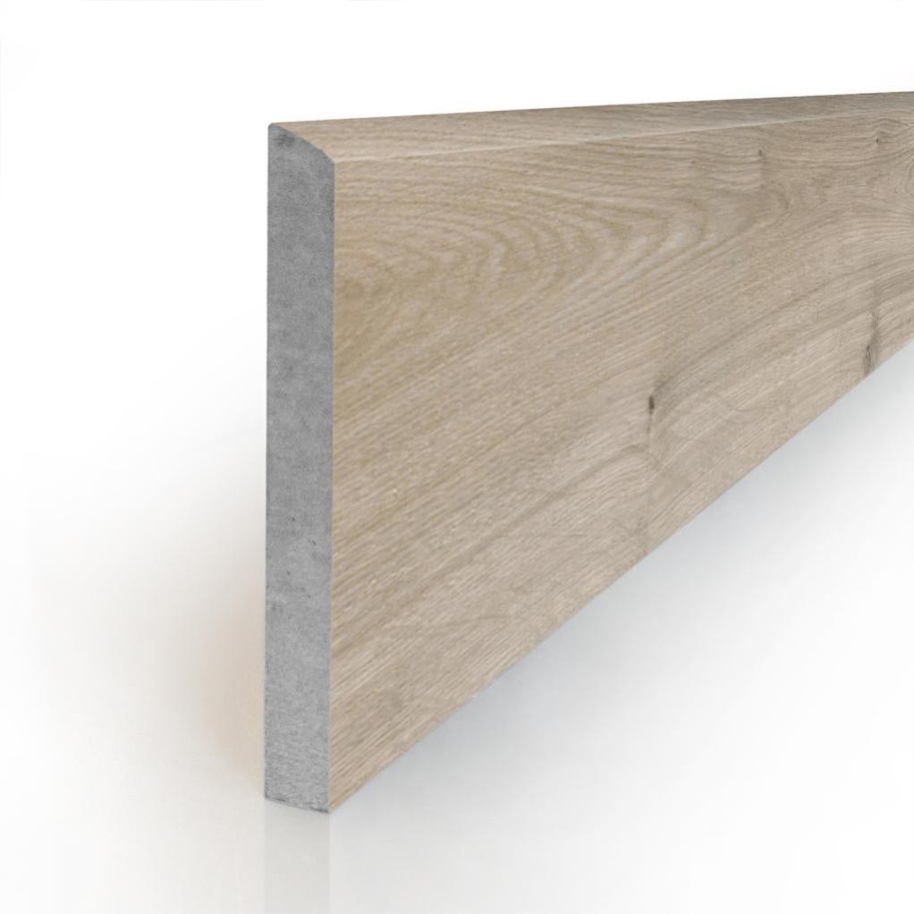 Plinthe aspect bois SPEZIA WIND 7,5X90- 4 Unités - zoom