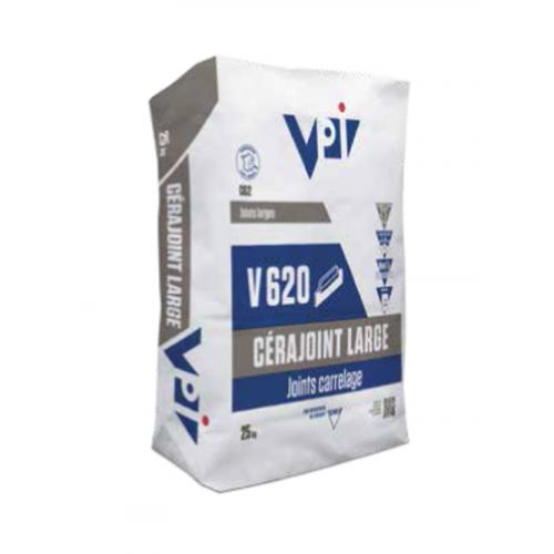 Cerajoint large pour carrelage V620 ton pierre - 25kg - zoom