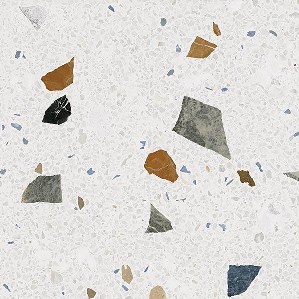 Carreau style granito coloré 60x60 cm STRACCIATELLA Nacar R10 - 1.44 m² - zoom