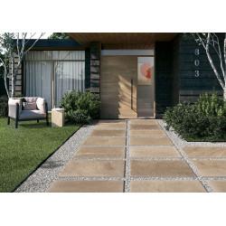 Carrelage grès cérame effet pierre MANDURAH DESERT ANTISLIP 40,8X61,4 - 1,25m² Coem ceramiche