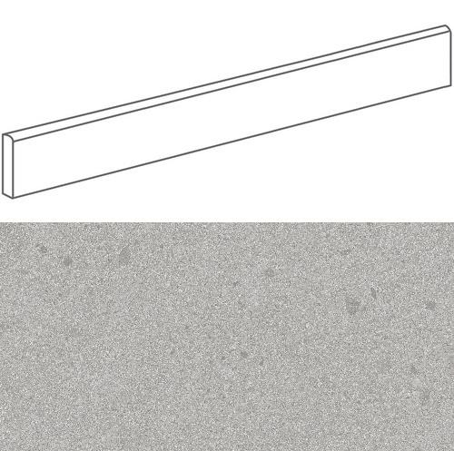 Plinthe imitation terrazzo9,4x120 cmGALBE CENIZA- 1unité - zoom