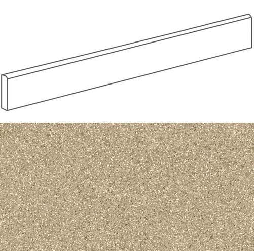 Plinthe imitation terrazzo9,4x120 cmGALBE MOSTAZA- 1unité - zoom