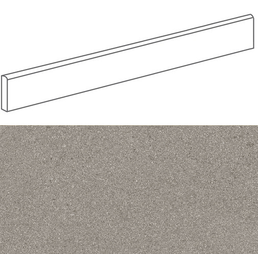 Plinthe imitation terrazzo9,4x80cmGALBE NUEZ- 1unité - zoom