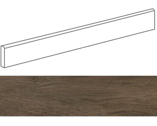 Plinthe grès cérame imitation parquetPRATO NOCE 9,4X59,3- 15 unités - zoom