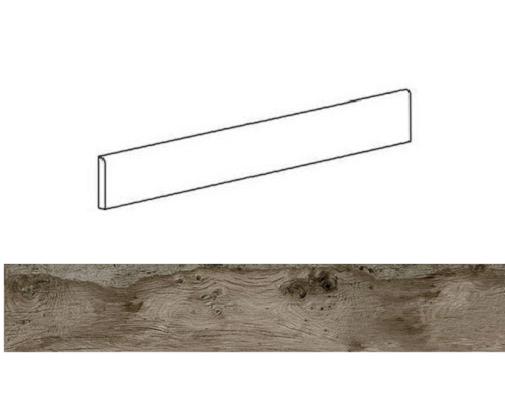 Plinthe effet bois 6x60cm WOODMANIA Ash - 8.40 ml - zoom