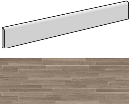 Plinthe aspect bois MONZA ELEGANT 7,5X90- 4 Unités - zoom