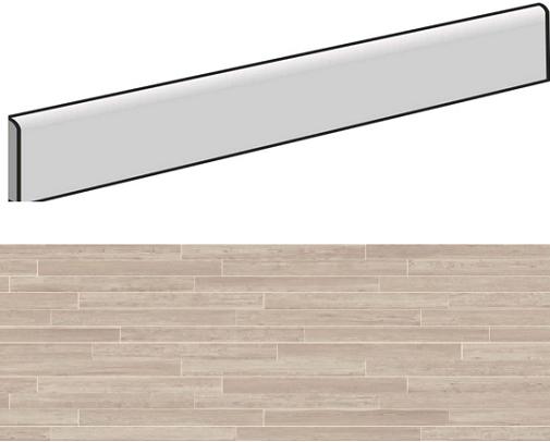 Plinthe aspect bois MONZA GLAMOUR 7,5X90- 4 Unités - zoom