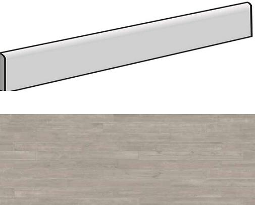 Plinthe imitation parquet LECCE PLASTER 6,5X120- 8 Unités - zoom