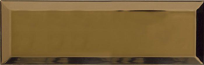 Carrelage Métro doré Or 10x30 cm - unité - zoom