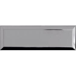 Carrelage Métro Argent miroir 10x30 cm - unité Ribesalbes