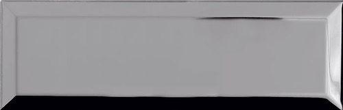Carrelage Métro Argent miroir 10x30 cm - unité - zoom