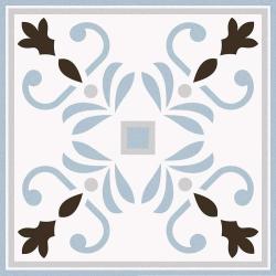 Carrelage imitation ciment 20x20 cm VALVANERA-3 ANGLE - 1 unité Vives Azulejos y Gres
