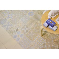 Carrelage imitation ciment 20x20 cm TASSEL Crema - 1m² Vives Azulejos y Gres