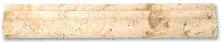 Corniche pierre Travertin TR.TAS 30.5x5 cm - unité - zoom