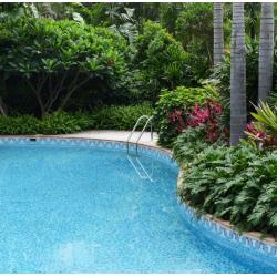 Frise piscine ondulation azur 31x18 cm 2002871 Cenefa 13 - unité Onix