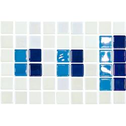 Frise piscine bleu 23.4x15.2 cm 2003389 Cenefa 18 - unité Onix