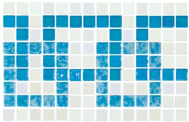 Frise piscine bleu turquoise 36.1x23.4 cm 2003392 Cenefa 21 - unité - zoom