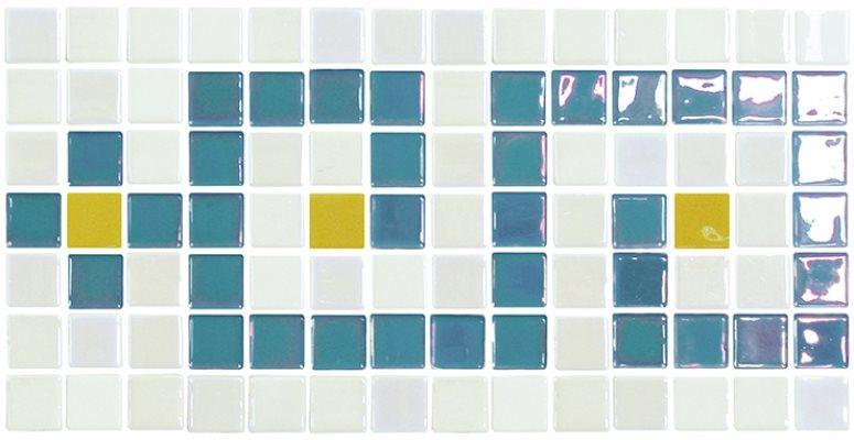 Frise piscine blanc - zoom