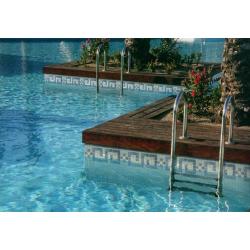 Frise piscine blanc Onix