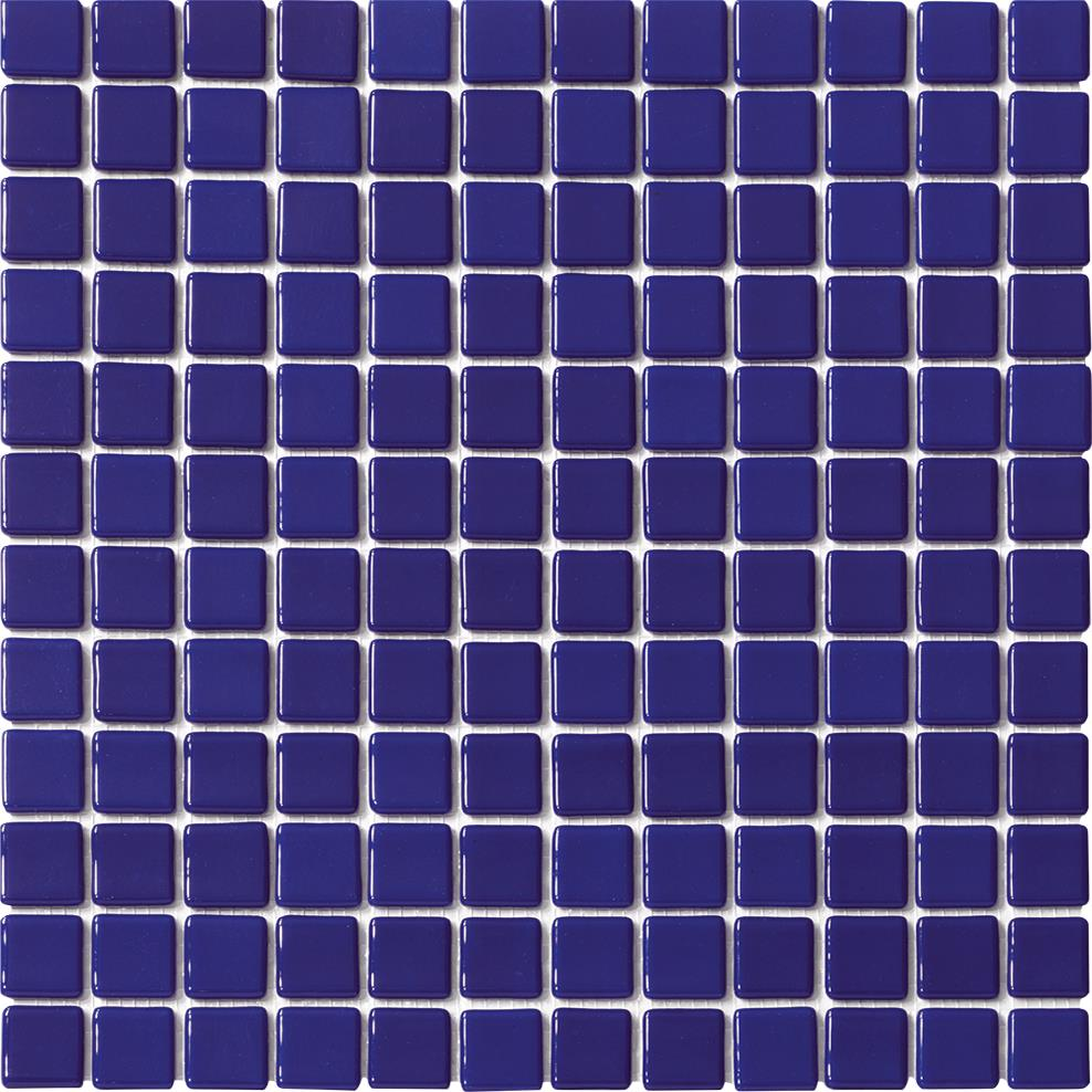 Mosaique piscine Lisa bleu marine obsur 2032 31.6x31.6 cm - 2m² - zoom