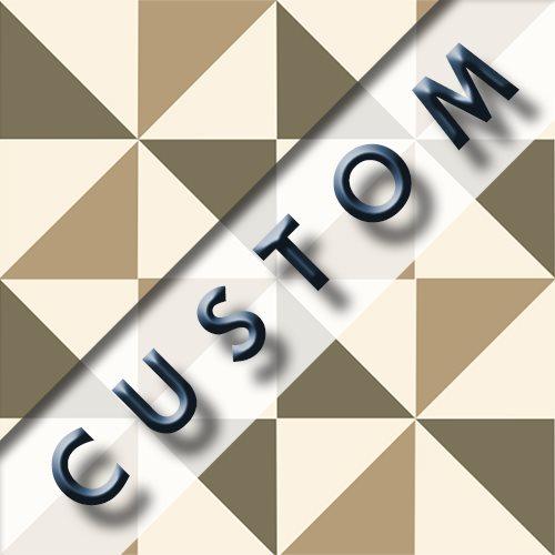 Carreau imitation ciment personnalisable 20x20 cm CUSTOM MOLINO R9 - 0.96m² - zoom