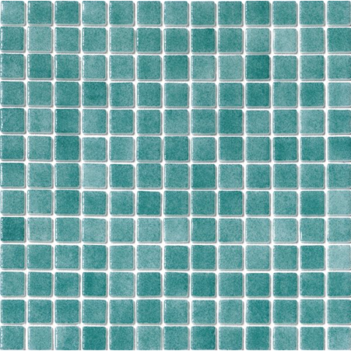 Mosaique piscine Nieve bleu vert turquoise 3007 31.6x31.6 cm - 2 m² AlttoGlass