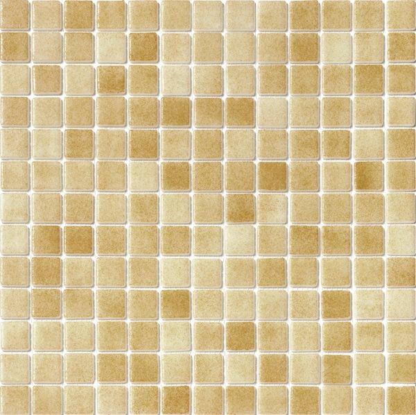 Mosaique piscine Nieve beige ocre orangé 3008 31.6x31.6 cm - 2 m² - zoom