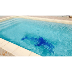 Mosaique piscine Nieve vert caraibe 3057 31.6x31.6 cm - 2 m² AlttoGlass