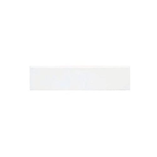 Plinthe intérieur Exacer blanc mat 8x33.3 cm grès cérame - unité Exacer