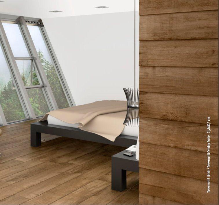 Carrelage imitation parquet Treewood Roble 21.8x89.3 cm - 1.36m² - zoom